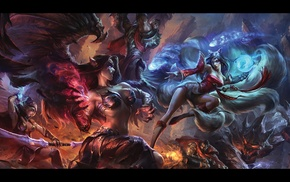 Dorian, Morgana, grave, Malphite, Ashe, League of Legends