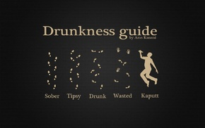 alcohol, humor, footprints, simple background