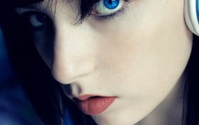 girl, photo manipulation