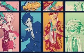 Naruto Shippuuden, Hatake Kakashi, Haruno Sakura, Uzumaki Naruto, Uchiha Sasuke