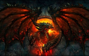 World of Warcraft Cataclysm, World of Warcraft, Deathwing, dragon