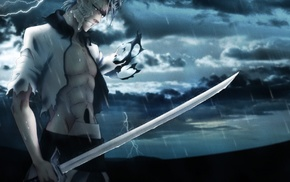 Grimmjow Jaegerjaquez, Bleach, sword, Espada