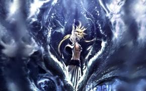 water, Tier Harribel, Bleach, anime girls, fighting, sword