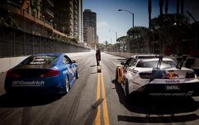 Red Bull, Mazda RX, 8, car, drift
