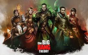 The Big Bang Theory, drawing