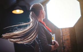 simplicity, brunette, model, long hair, girl, portrait