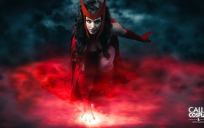 Scarlet Witch, Callie Cosplay, cosplay
