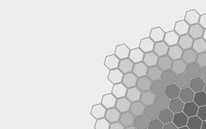 minimalism, geometry, white background, monochrome, simple background, hexagon