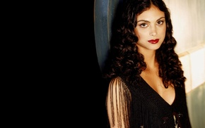 girl, curly hair, long hair, brown eyes, Morena Baccarin, Firefly