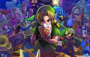 Nintendo, The Legend of Zelda Majoras Mask, The Legend of Zelda, video games, Link