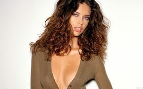 model, brunette, girl, Adriana Lima