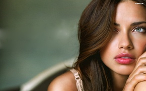 face, Adriana Lima, model, girl