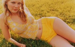 shorts, Kirsten Dunst, actress, girl