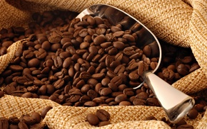 brown, coffee, texture, coffee beans