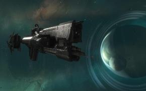 Halo Reach, video games, fantasy art, planet, stars, digital art