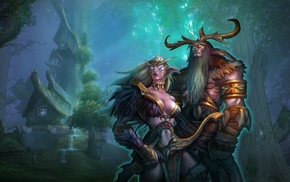 elves, World of Warcraft, Malfurion, Night Elves, fantasy art
