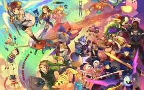 bowser, Falco, Fox McCloud, Nintendo, Marth, Samus Aran