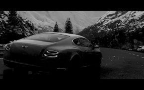 Bentley, rain, Driveclub, car