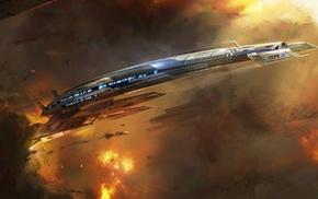 Mass Effect, Normandy SR, 2