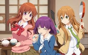 Koufuku Graffiti, Morino Kirin, anime, anime girls, Machiko Ryou, Shiina Koufuku Graffiti