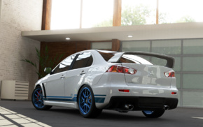 car, Mitsubishi, Mitsubishi Lancer Evolution X, Forza Motorsport 5