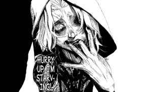 One, Eyed Ghoul, manga, Tokyo Ghoulre, multiple display, Takizawa Seido