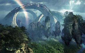 Avatar, digital art, fantasy art, movies, landscape