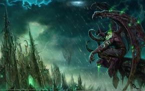 World of Warcraft, World of Warcraft, fantasy art, Illidan Stormrage