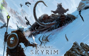 concept art, video games, The Elder Scrolls, The Elder Scrolls V Skyrim