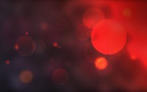 bokeh, red, circle