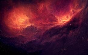stars, TylerCreatesWorlds, nebula, space art, space