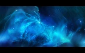 JoeyJazz, space, stars, space art, nebula