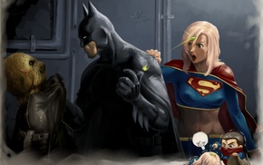 Supergirl, kryptonite, Superman, DC Comics, Superwoman, digital art