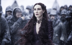 Melisandre, Carice van Houten, girl, Game of Thrones, redwoman