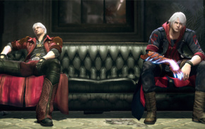 Devil May Cry 4, DmC Devil May Cry, Devil May Cry, video games, Nero character, Dante