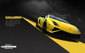 Lamborghini, video games, yellow cars, Lamborghini Gallardo, Driveclub