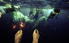 Cthulhu, underwater