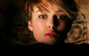 face, girl, Keira Knightley