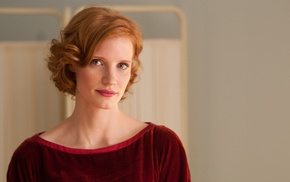 redhead, girl, actress, Jessica Chastain