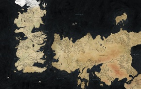 map, Game of Thrones