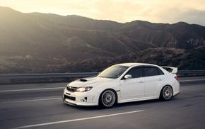 Subaru WRX STI, car, Subaru