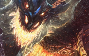 World of Warcraft Cataclysm, dragon, Deathwing