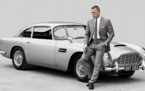 007, Daniel Craig, Aston Martin DB5, Aston Martin, James Bond