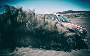 racing, sand, Dakar Rally, vehicle, rally cars