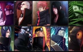 Tobi, Kakuzu, Deidara, Naruto Shippuuden, Akatsuki, Zetsu