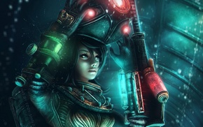 BioShock, video games, BioShock 2