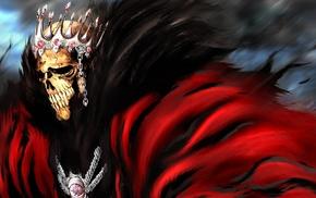 Barragan Luisenbarn, skull, Espada, Bleach, crowns