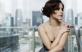 actress, bare shoulders, strapless dress, brunette, girl, Sophia Bush
