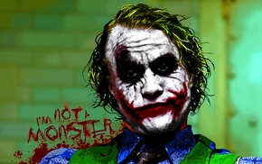 The Dark Knight, DC Comics, Batman, MessenjahMatt, quote, Joker