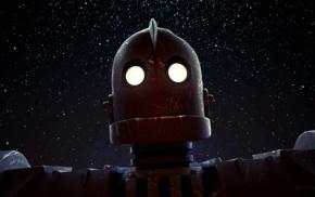 The Iron Giant, movies, lights, stars